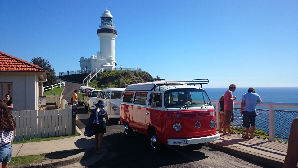 Byron Bay Lighthouse with Bettsy