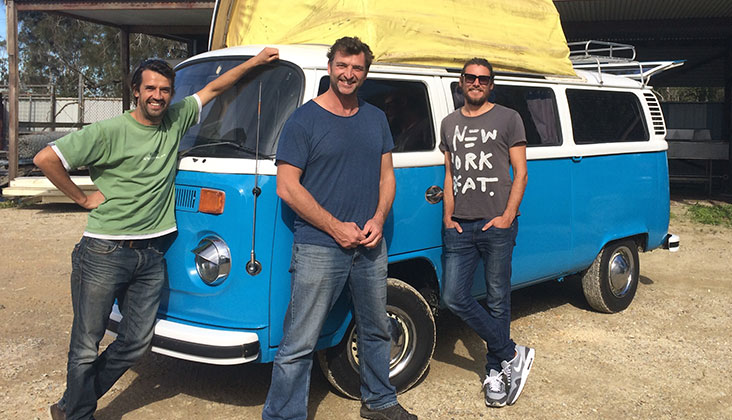 Retro Campervans car rental Byron Bay