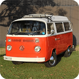 b5f957685590dc Classic Kombis · Book Now · VW Campervan